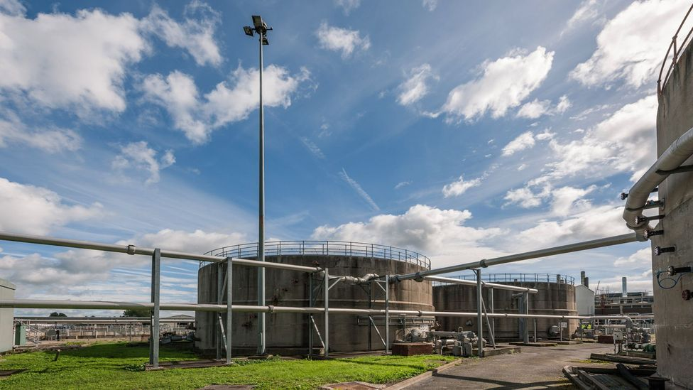 In Bristol, England,Wessex Water has installed a biogas plantat its sewage works, turning raw sewage into56 million litres of biomethane a day (Credit: Wessex Water/GENeco)