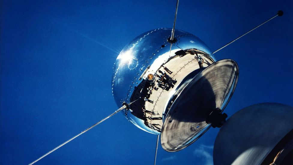 Vanguard satellite (Credit: Nasa/Science Picture Library)