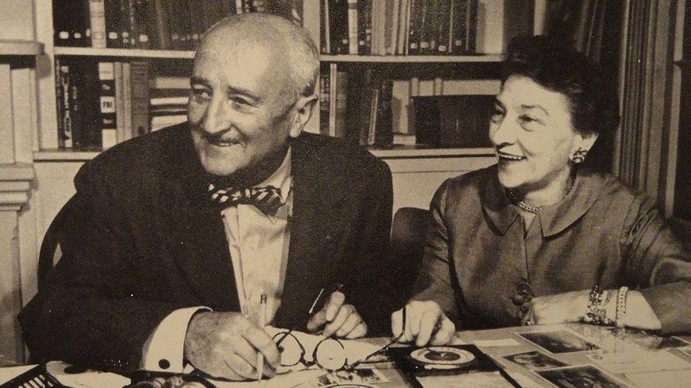 Elizebeth Friedman and husband William (Credit: National Cryptologic Museum/Wikipedia)