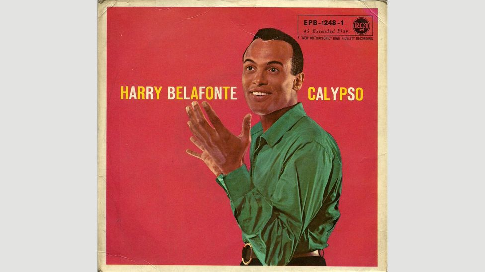Harry Belafonte's Calypso was the first long-playing album to sell over one million copies in the US – he is of Jamaican and Martiniquan descent, not Trinidadian (Credit: RCA)