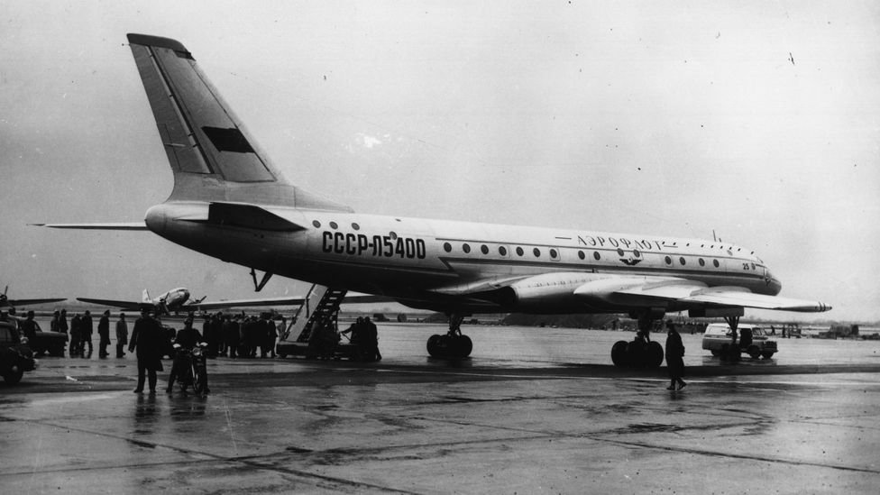 The first Soviet airliner, the Tupolev Tu-104, was a surprise to the West (Credit: Getty Images)