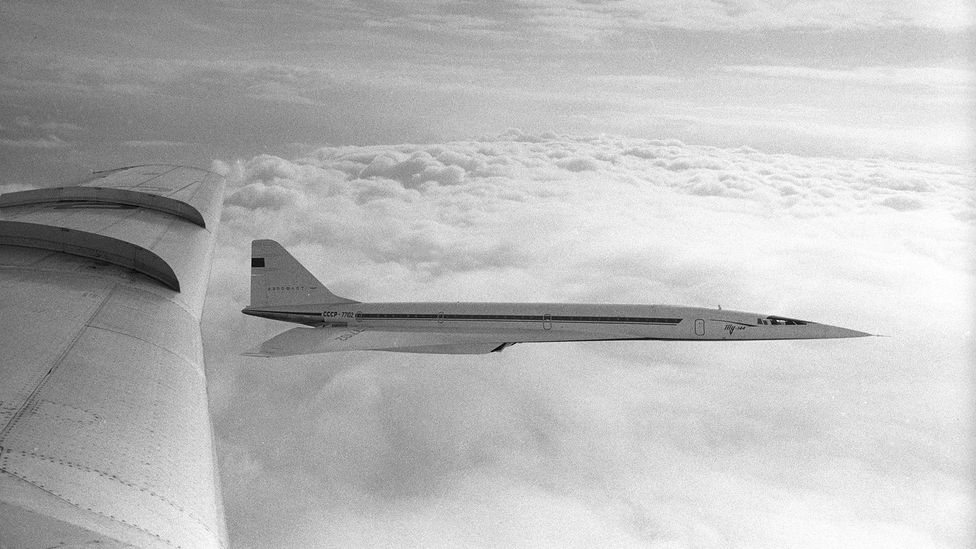 The Tu-144 looked very similar to Concorde, especially in its supersonic flight profile (Credit: Alamy)