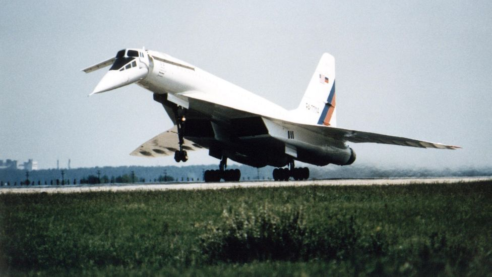 The Tu-144 gave Nasa the chance to use a real aircraft to help design a supersonic plane of the future (Credit: Science Photo Library)