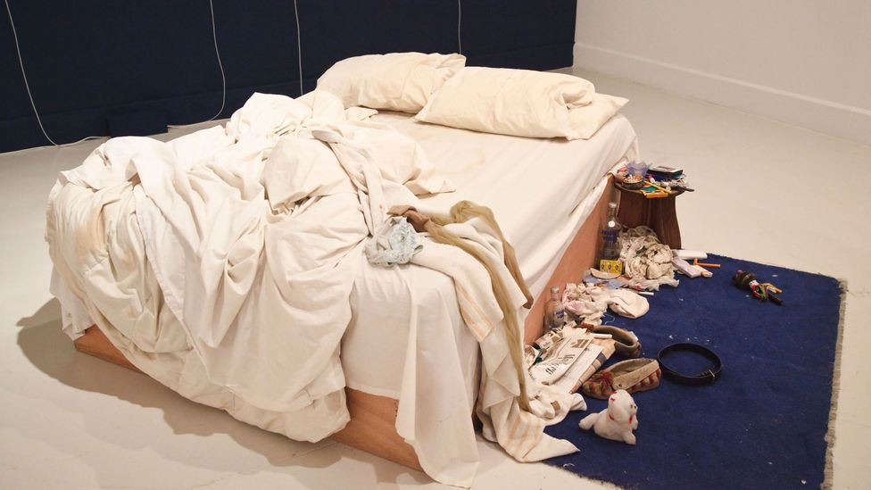 Tracey Emin, My Bed, 1998 (Credit: Alamy)