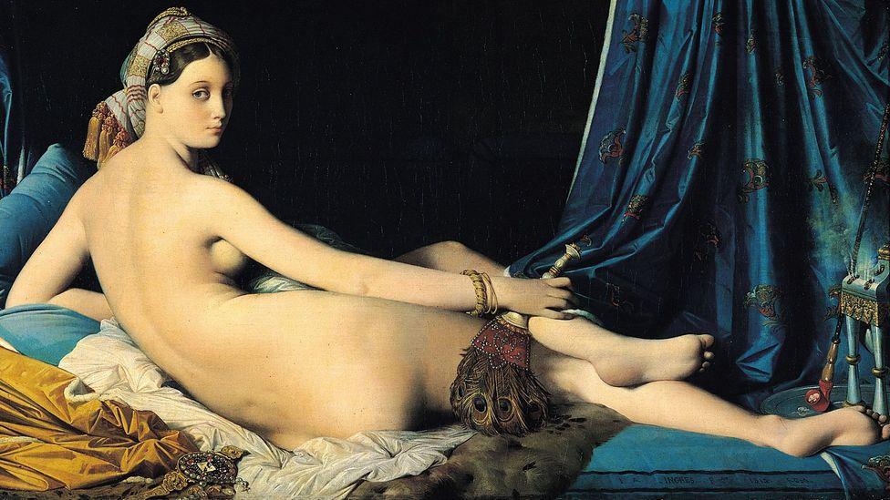 La Grande Odalisque by Jean-Auguste-Dominique Ingres (Credit: Wikipedia)