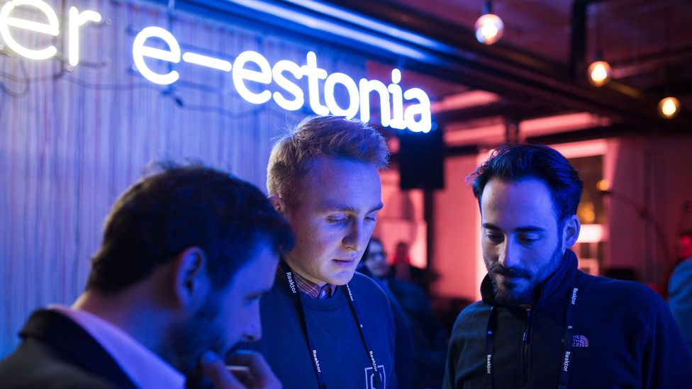 Estonia says its digital government platform helps create technical jobs for citizens to help run the systems (Credit: e-Residency)