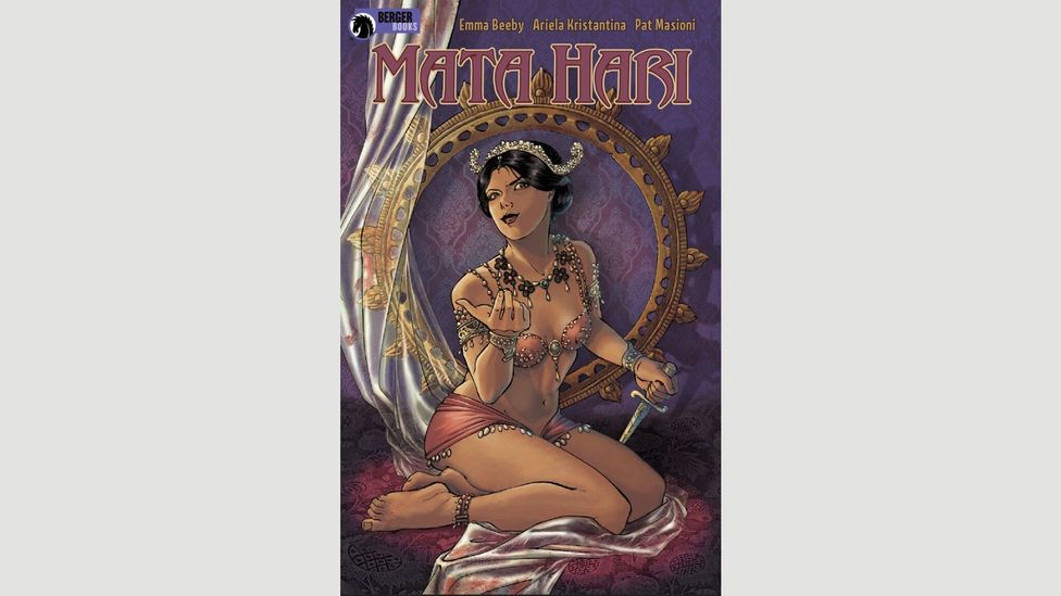 Emma Beeby is currently writing a comic series about Mata Hari for Dark Horse Comics (Credit: Dark Horse)