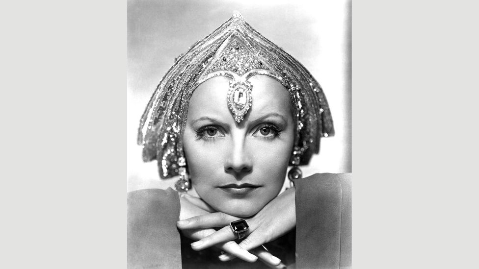 In 1931 Greta Garbo played the spy in the film Mata Hari, which fictionalised the details of her life but kept her death by firing squad (Credit: Alamy)