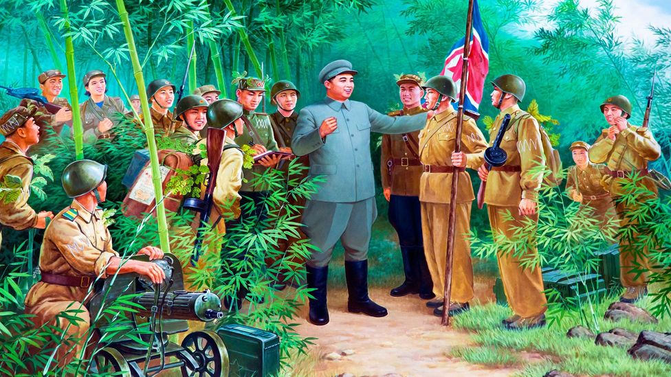 Revolutionary plays and theoretical work were attributed to North Korean leader Kim Il-sung (Credit: Alamy)