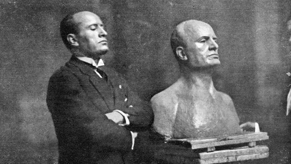 Mussolini's passion for poetry had an air of pretension about it; his own verse was prone to mawkish resignation (Credit: Alamy)