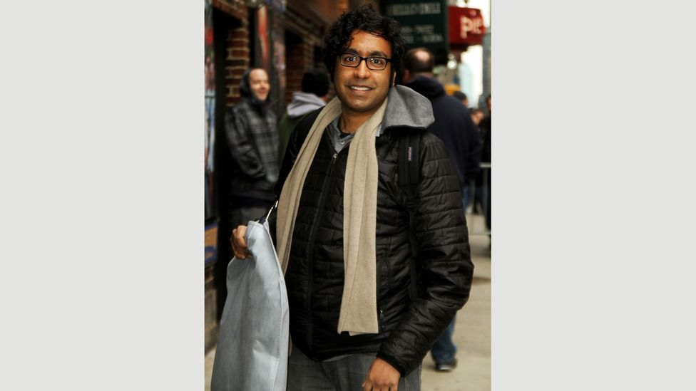 Comedian Hari Kondabolu says he likes The Simpsons and it had a huge influence on his own comedy – but he was bullied as a child because of Apu (Credit: Alamy)