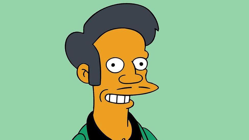 Apu in The Simpsons (Credit: Alamy/Fox/Matt Groening)