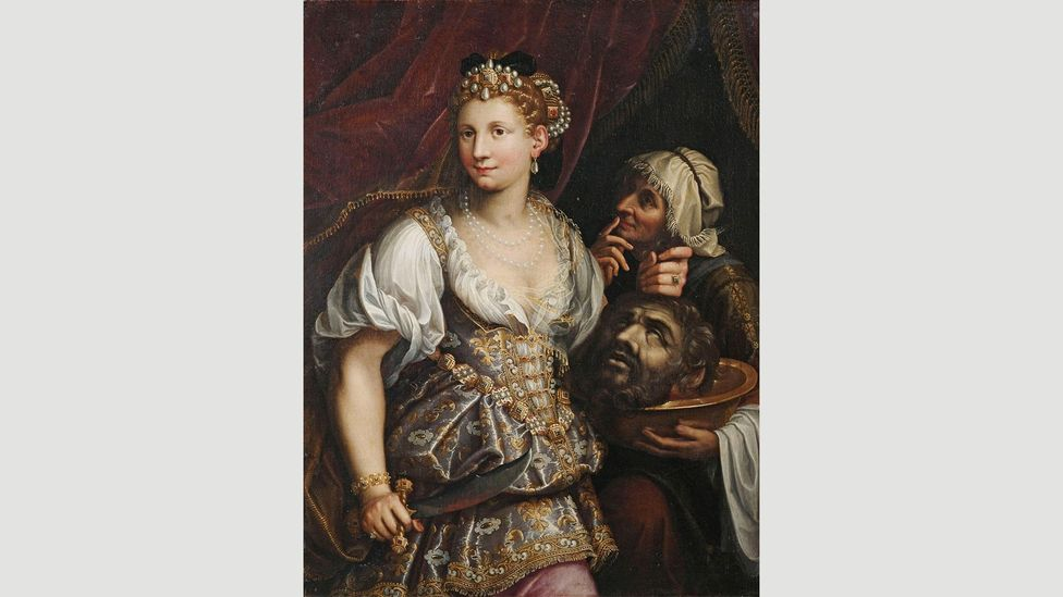 Judith with the Head of Holofernes by Fede Galizia, 1596 (Credit: Alamy)