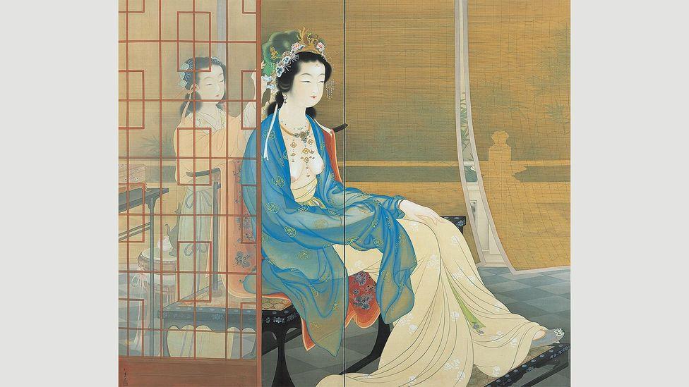 Yang guifei by Uemura Shōen, 1922 (Credit: Alamy)
