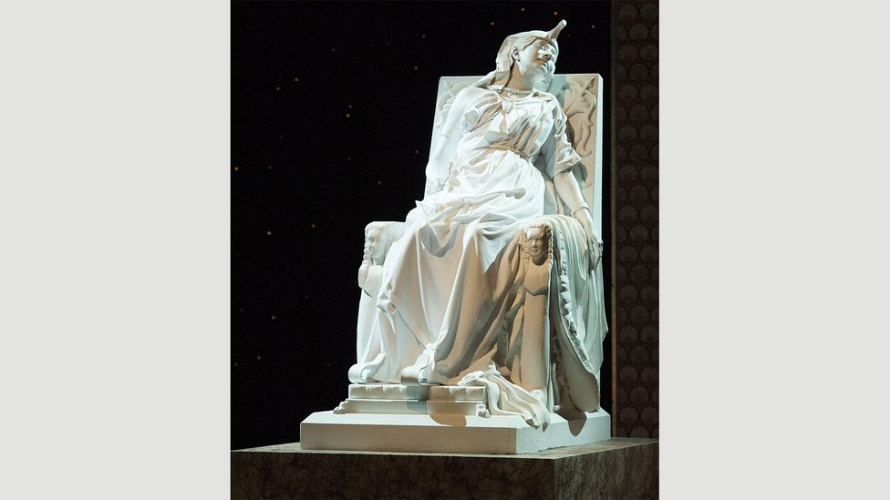 The Death of Cleopatra by Edmonia Lewis, 1876 (Credit: Alamy)