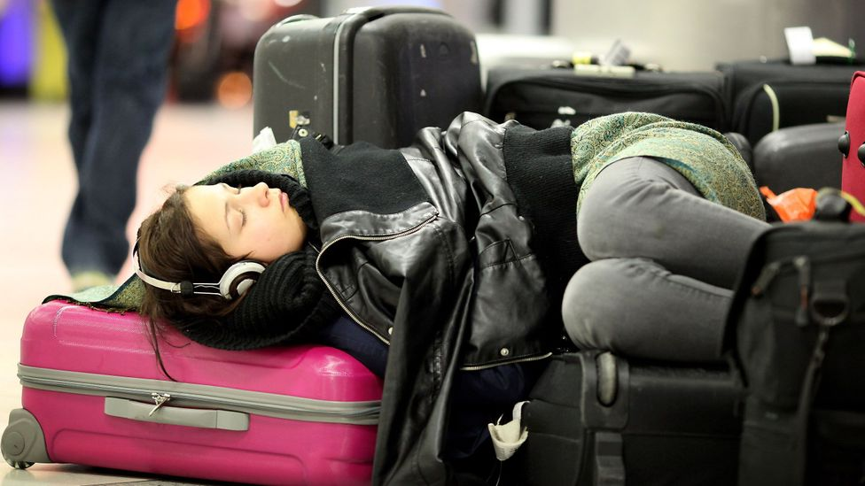 Scientists at Stanford University in California are researching light therapy to counteract jet lag and its effects (Credit: Getty Images)