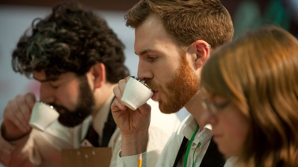 In coffee flavour tasting, a score of more than 80 out of 100 is considered 'specialty' grade (Credit: Getty Images)