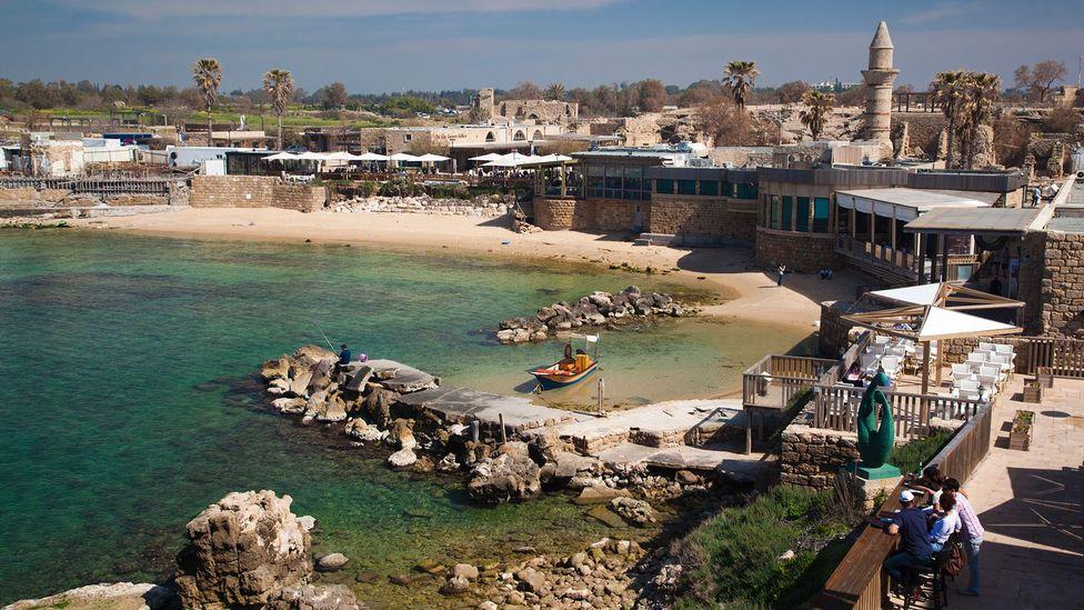Caesarea is an ancient port city on Israel's Mediterranean coast (Credit: Walter Bibikow/Getty Images)