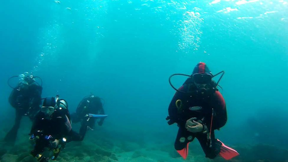 Many of Israel's underwater archaeological zones are open to divers (Credit: Breena Kerr)