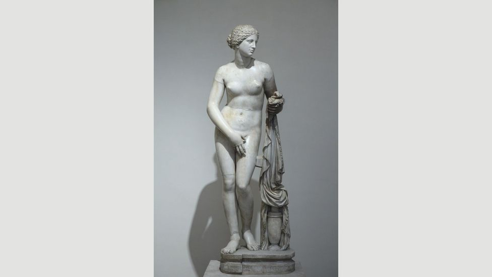 Phryne is believed to have been the model for the Aphrodite of Knidos, by the sculptor Praxiteles (Credit: Alamy)