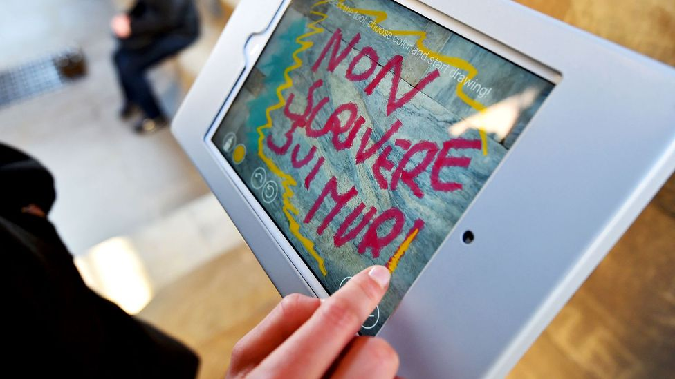 Studies suggest that the physical act of handwriting may aid children in learning the alphabet, even in an age of tablets (Credit: Vincenzo Pinto/AFP/Getty Images)