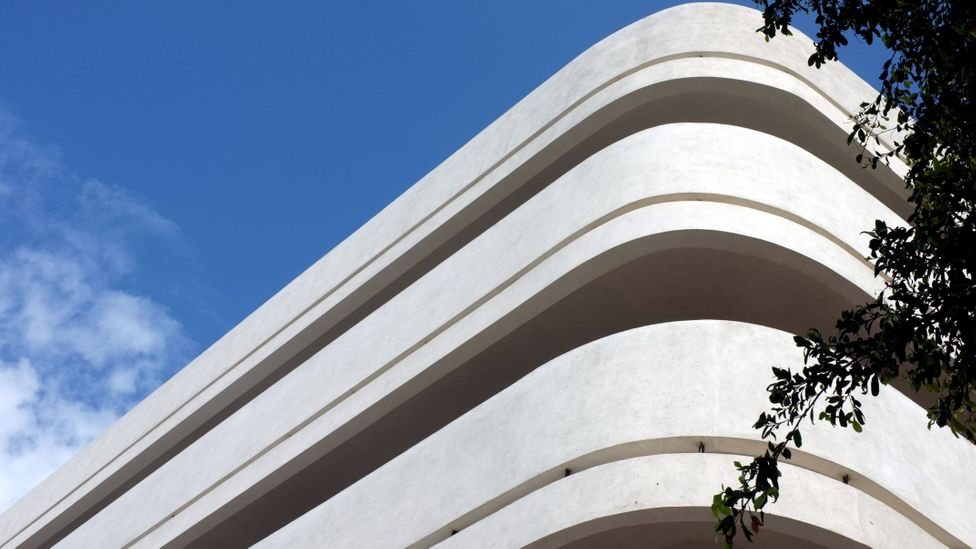 In Tel Aviv, the White City is a collection of over 4,000 buildings built from the 1930s in the Bauhaus style by German Jewish immigrants (Credit: IAISI/Getty)