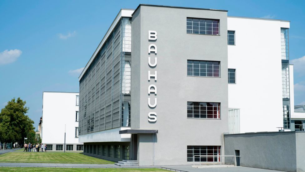After the original Bauhaus was forced to close, the German city of Dessau gave it a new home, in the form of a building designed by Gropius (Credit: Iain Masterton/Getty)