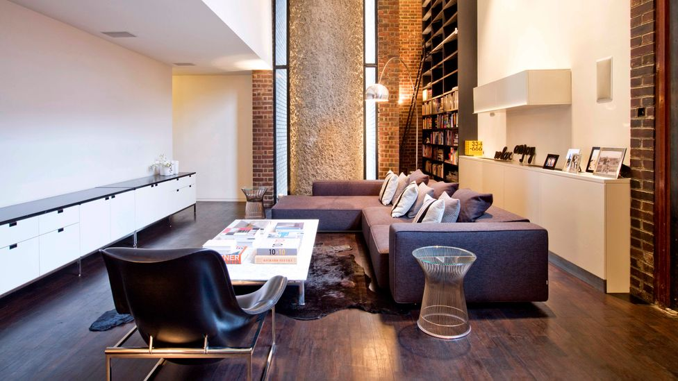 The influence of the Bauhaus is ubiquitous even today, as is evident in a modern-day apartment in London's Barbican Estate (Credit: Robert Oliver/ArcaidImages)