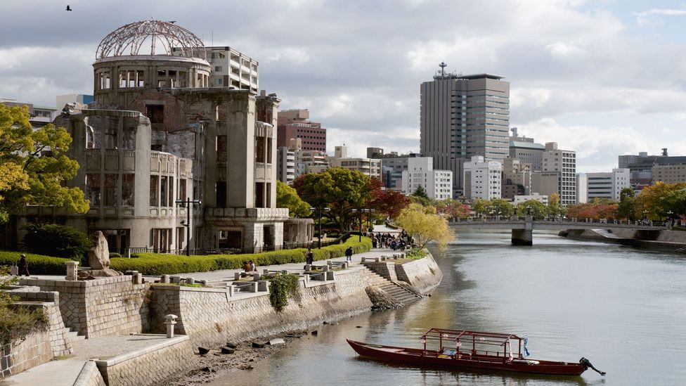 """Ayaka Ogami: """"[The A-bomb Dome is] a symbol of the importance of everlasting peace"""" (Credit: travelgame/Getty Images)"""
