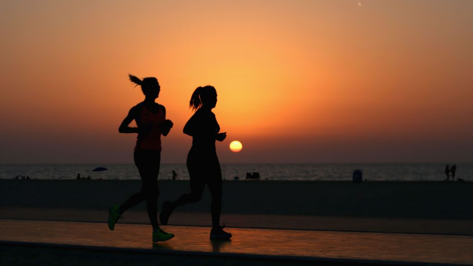 There is good evidence that regular exercise can improve memory, reduce stress, boost productivity and increase performance at work. (Credit: Getty Images)