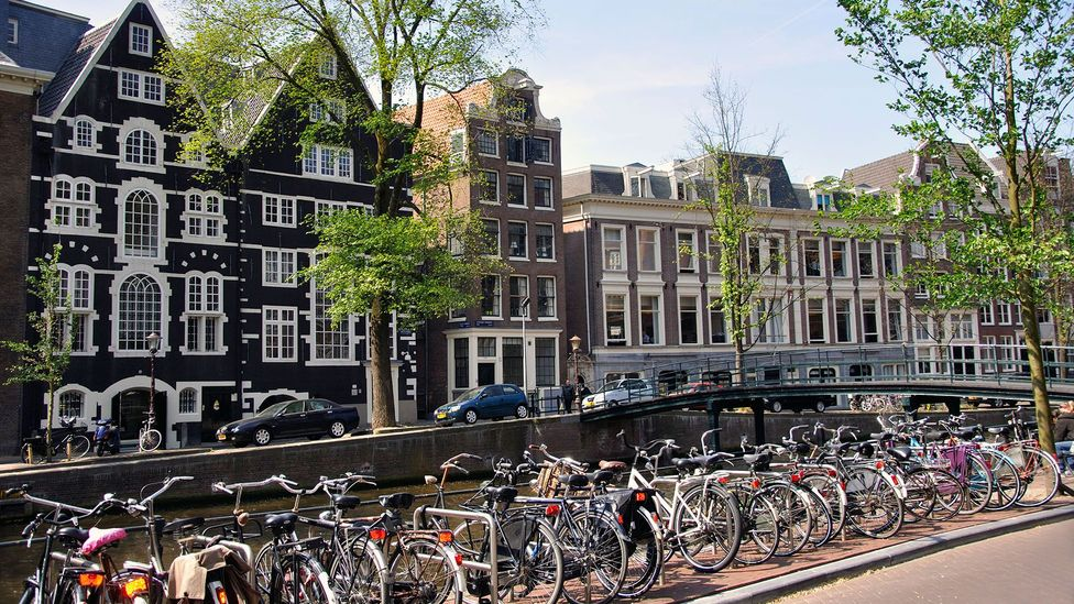"""The expats surveyed by Skovgaard-Smith were proud """"Amsterdammers"""" who had put down roots in the city (Credit: Alamy)"""