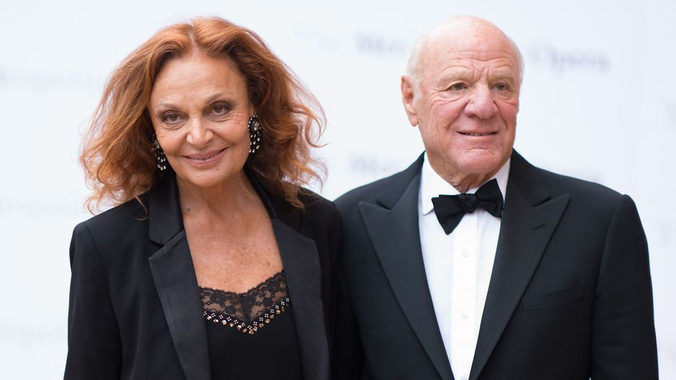 Expedia chairman Barry Diller is married to fashion designer Diane von Furstenberg – the couple are thought to be worth over $2.7bn (Credit: Getty Images)