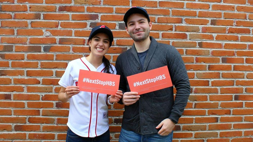 Yunuen Lizcano and Patrick Rea are both second-year MBA students at Harvard Business School (Credit: Yunuen Lizcano and Patrick Rea)