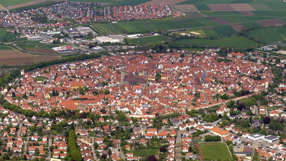 Before the diamonds were discovered, Nördlingen residents believed they were living in a volcanic crater (Credit: Lothar Theobald/Getty Images)