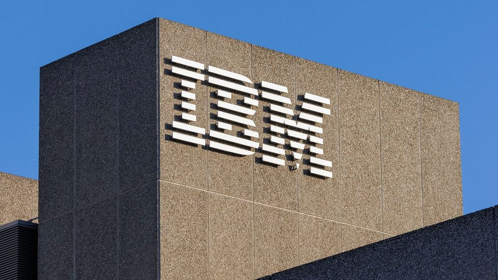 The IBM logo is 45 years old – a long stretch for any company, but especially so in the tech world (Credit: Alamy)