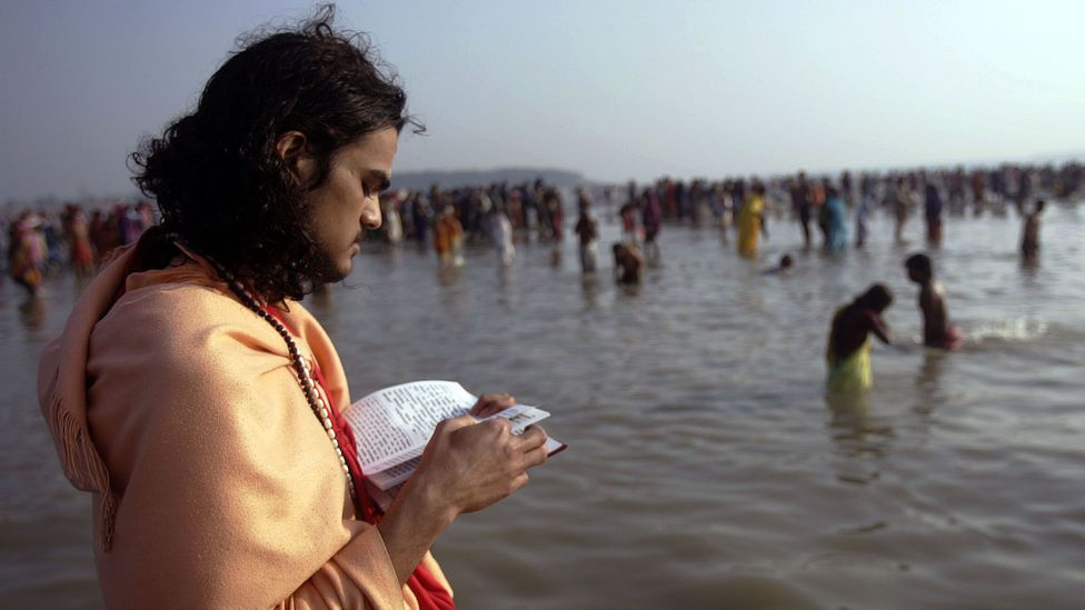 The Bhagavad Gita, the fundamental Hindu text, communicated the downside of perpetual goal-setting 2,200 years ago (Credit: Getty Images)