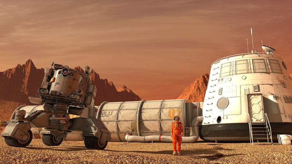 If astronauts are engineered to suit a life in space, will they then be at a disadvantage when it comes to life on another planet? (Credit: Alamy)