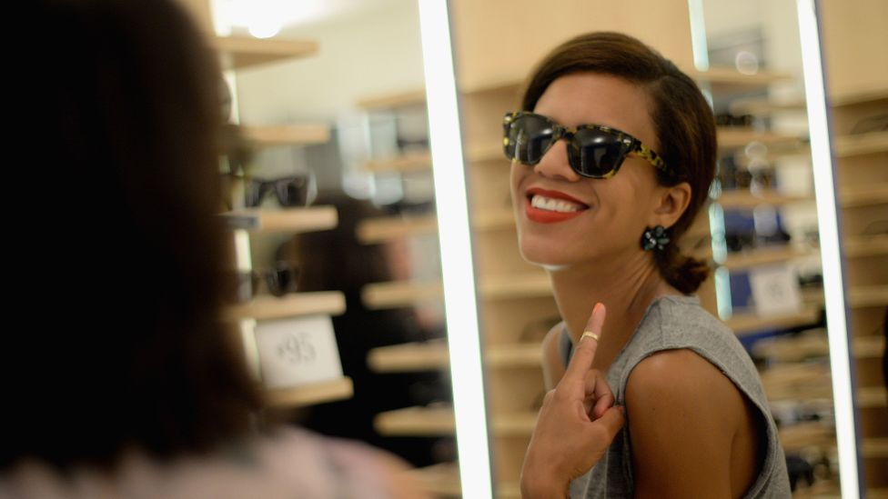 Eyewear startup Warby Parker has launched an app that allows eligible customers to give themselves a vision test at home (Credit: Getty Images)