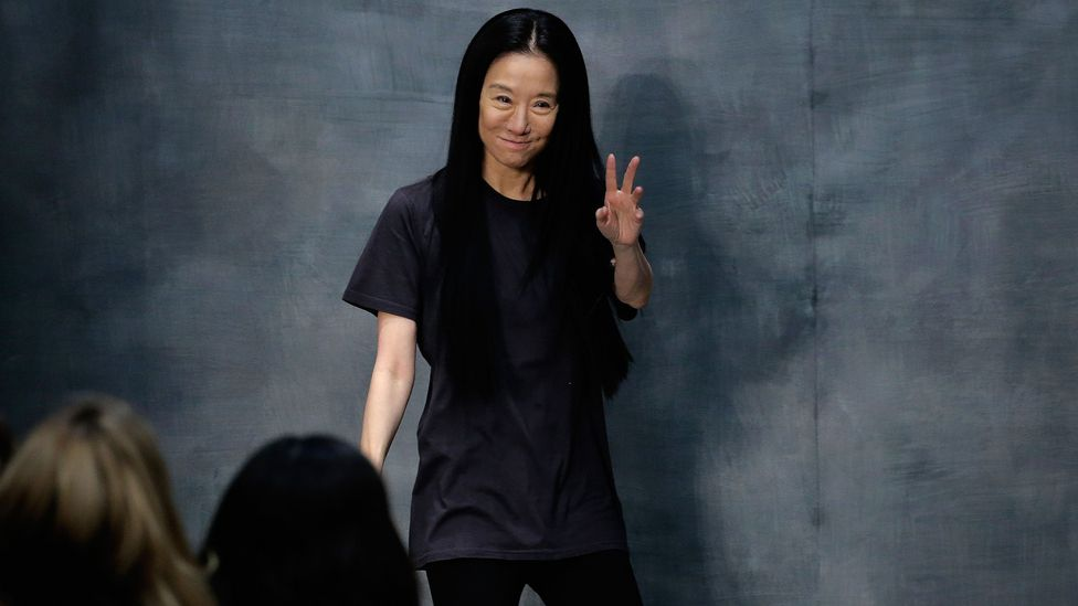 A former figure skater, Vera Wang was senior fashion editor at Vogue for 15 years and then a design director for Ralph Lauren before creating her own label (Credit: Getty Images)