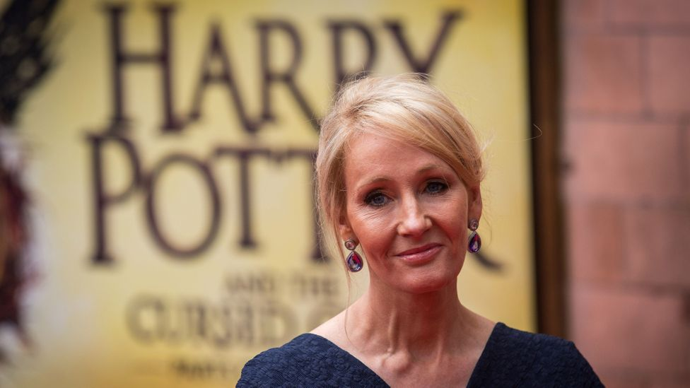 JK Rowling was turned down by a dozen publishers before eventually selling the Harry Potter books (Credit: Getty Images)