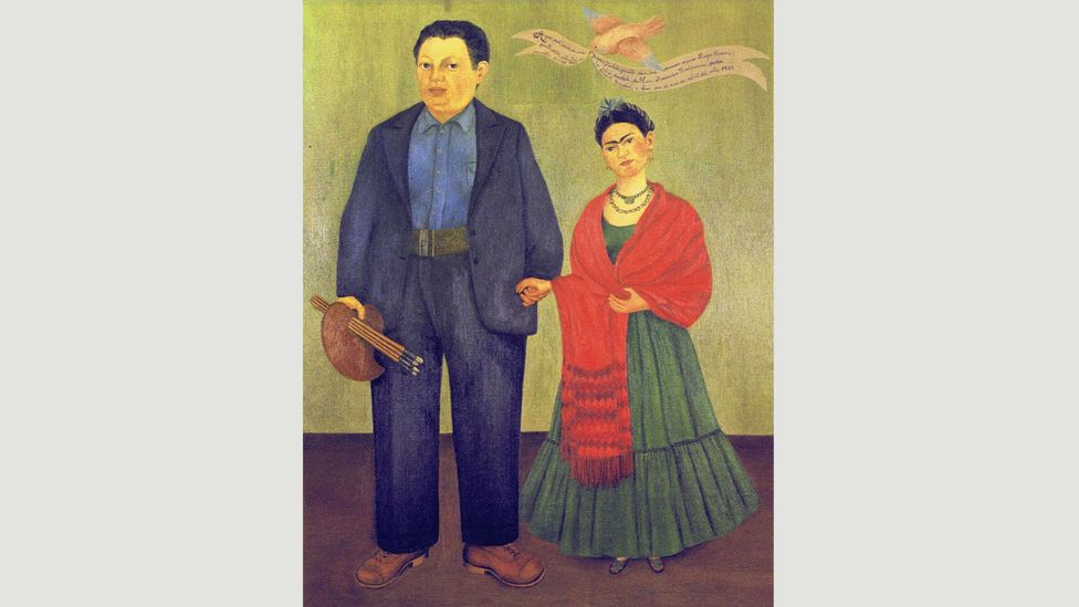 This 1931 portrait by Kahlo is hardly the picture of uncomplicated marital bliss (Credit: Banco de México Diego Rivera Frida Kahlo Museums Trust, Mexico, DF/DACS 2017)