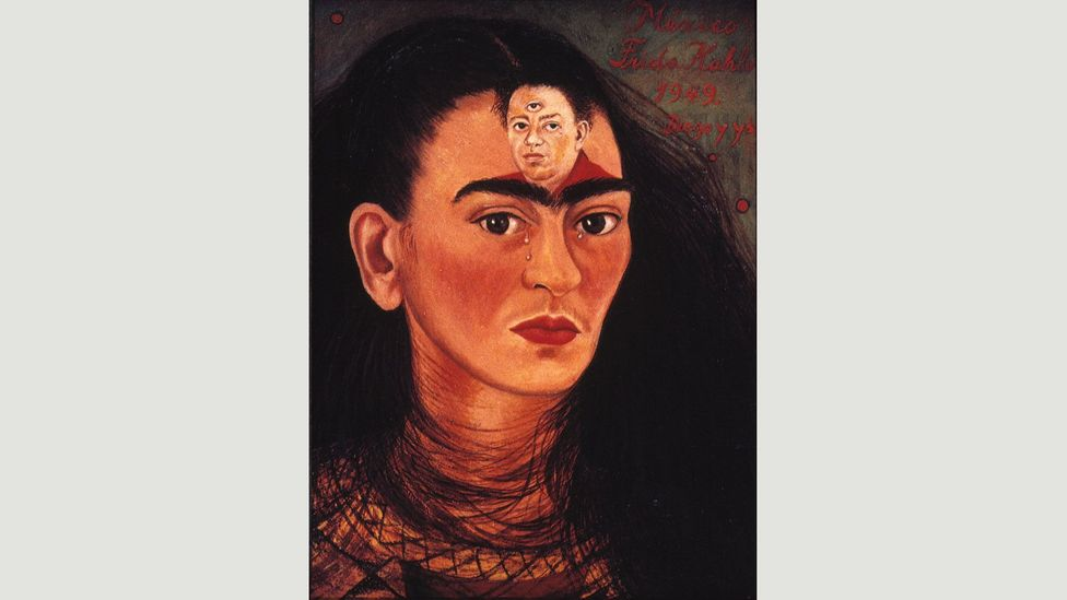 Diego and I (1949) was created amid rumours that Rivera would soon abandon her (Credit: Banco de México Diego Rivera Frida Kahlo Museums Trust, Mexico, DF/DACS 2017)