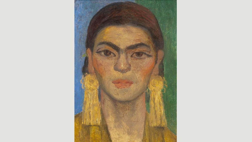 Rivera painted this portrait of Kahlo in 1939, and held onto it until his death in 1957 (Credit: Banco de México Diego Rivera Frida Kahlo Museums Trust, Mexico, DF/DACS 2017)