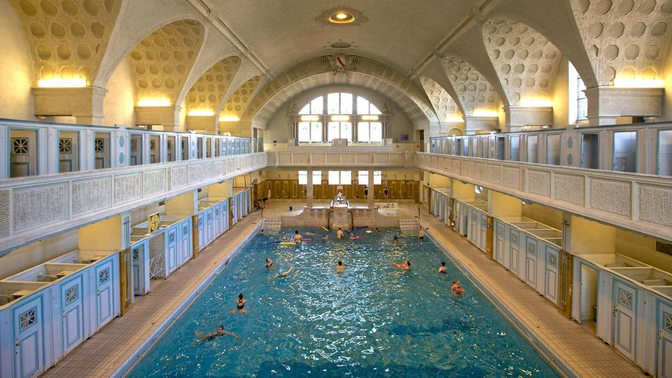 Before they became places for exercise and recreation, for centuries, public baths were where many people kept clean (Credit: Getty Images)