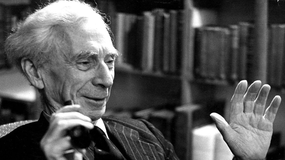 """Philosopher, Bertrand Russell wrote: """"Americans need rest, but do not know it."""" (Credit: Getty Images)"""