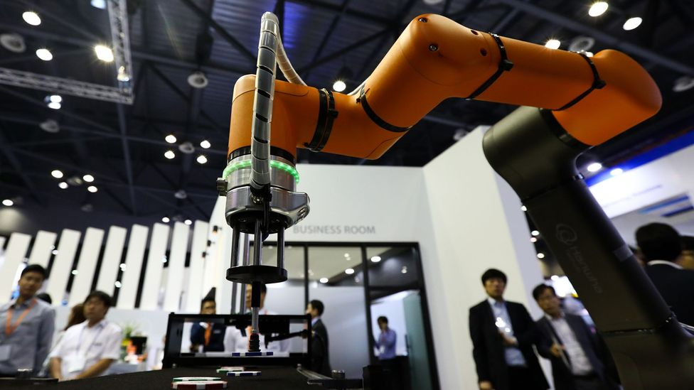 In 2014, South Korea spent more than any country on research and development (Credit: Bloomberg/Getty Images)