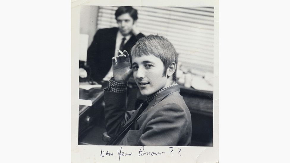 Intuitive, maverick Face publisher Nick Logan, photographed in the 1960s in his Mod days (Credit: Nick Logan/The Face Archive)