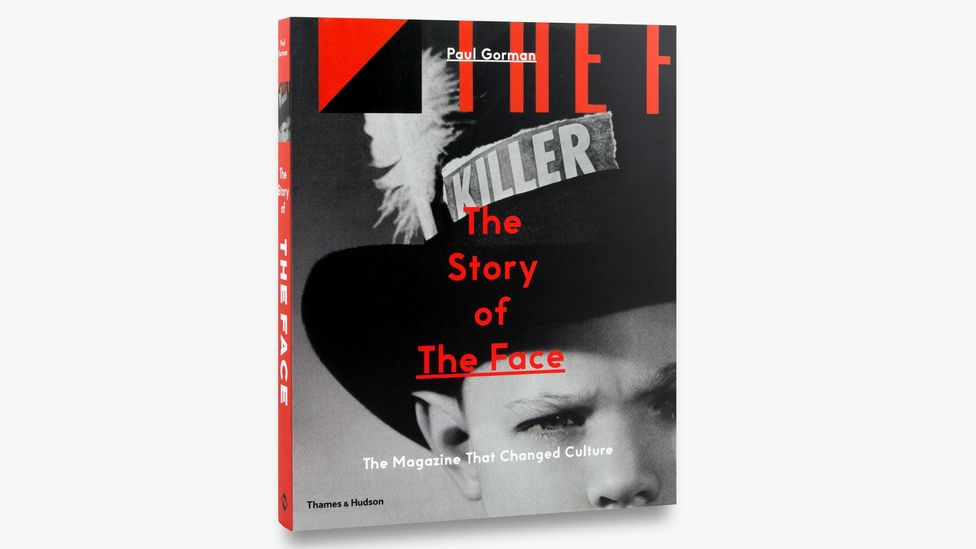 A classic Face cover of the 'Buffalo' era by Jamie Morgan adorns the front cover of Paul Gorman's book The Story of The Face (Credit:Thames & Hudson)