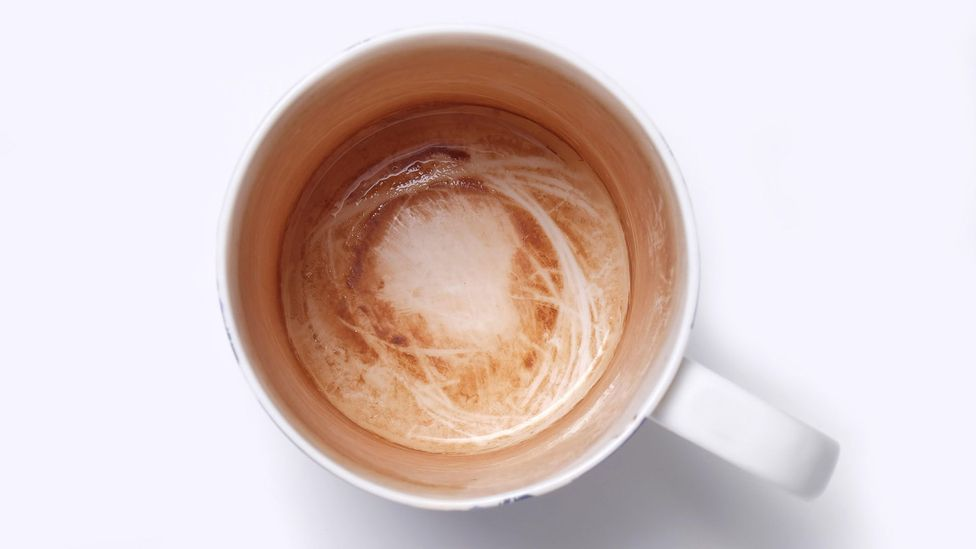 Tea and coffee can stain teeth in much the same way as they leave a stubborn marks inside a cup (Credit: Alamy)
