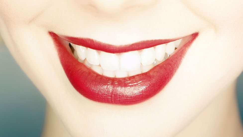 A bright white smile might look attractive but it is not necessarily a sign of healthy teeth (Credit: Lumi Images/Alamy)